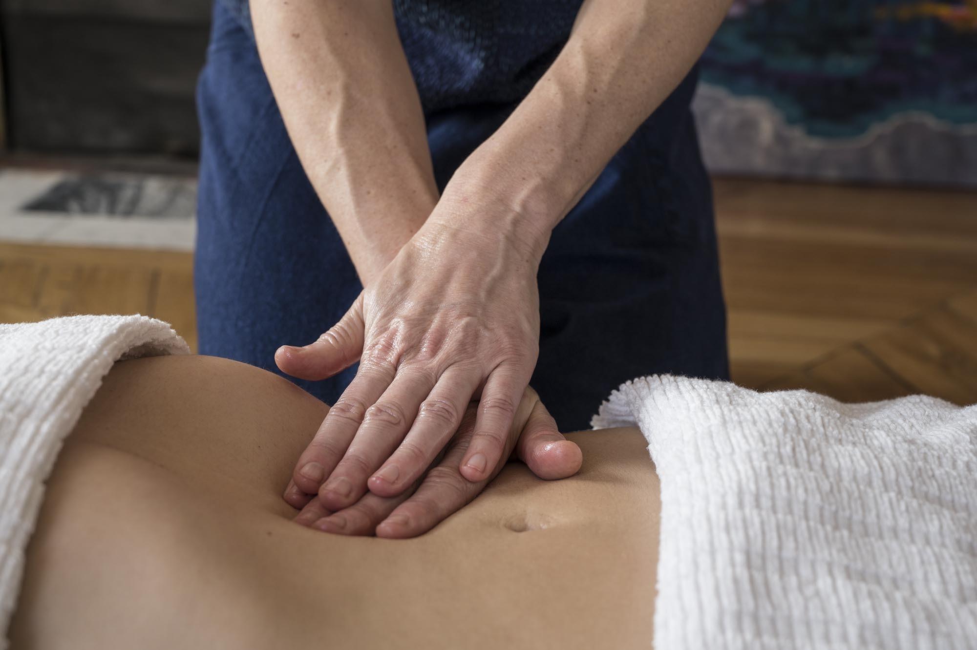 massage des organes internes