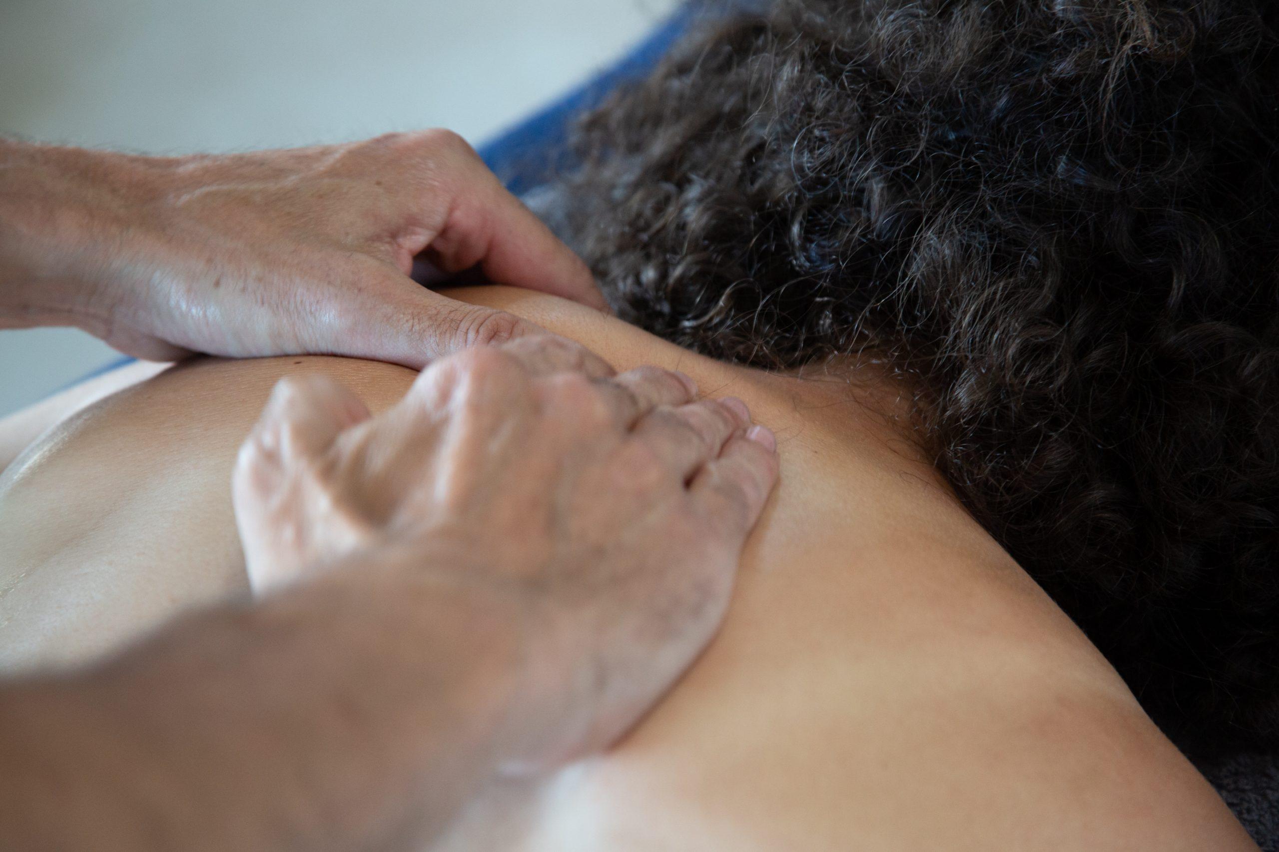 massage Suédois dos